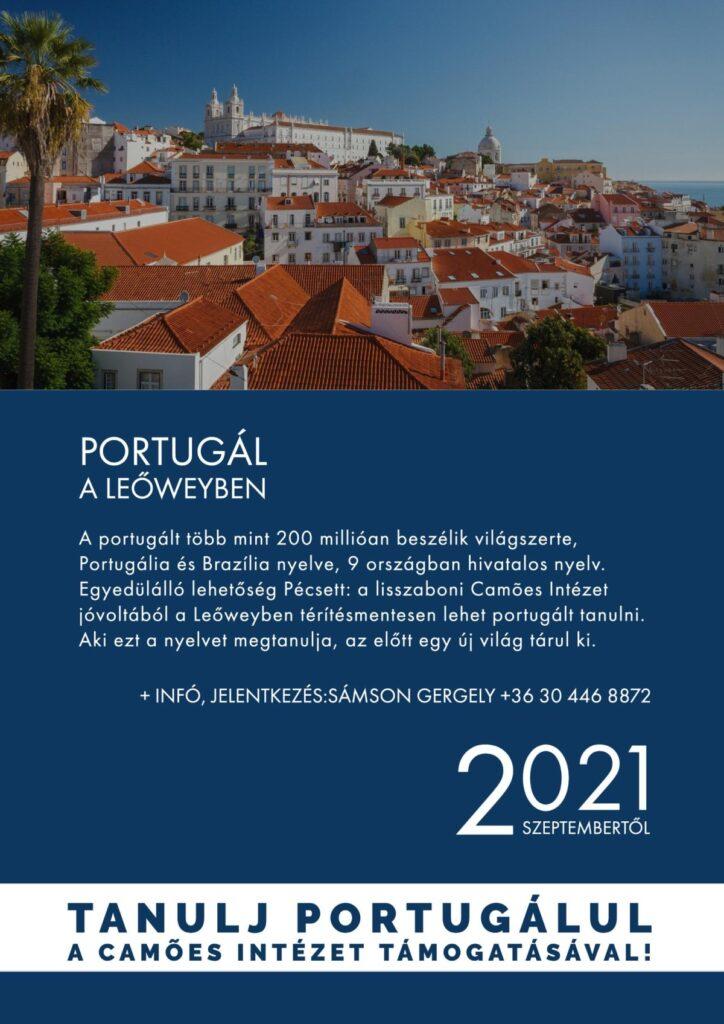, Portugálórák a Leőweyben – Kedd 14:30